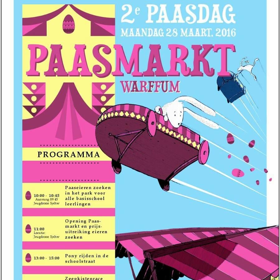 paasmarkt in Warffum